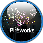 3D Fireworks City