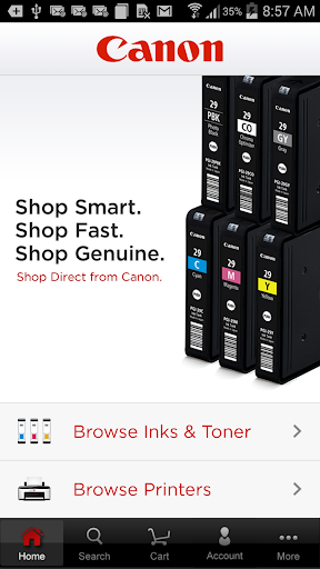 Canon Ink Toner Finder