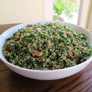 Quinoa Tabbouleh Salad.