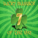 Lucky number of the day icon