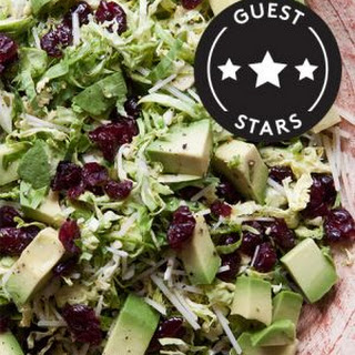 Shredded Brussels Sprouts Salad.