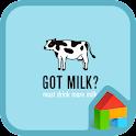 got milk dodol theme icon