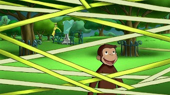 Curious George, Web Master/The Big Sleepy