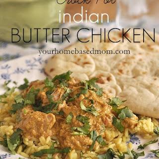 Crock Pot Indian Butter Chicken.