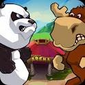 Crouching Panda Hidden Swine logo