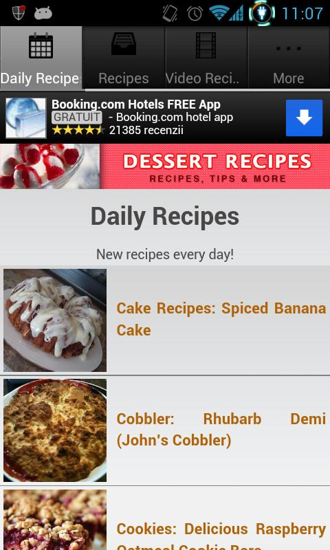 Dessert Recipes! - screenshot