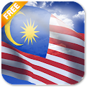 3D Malaysia Flag LWP icon
