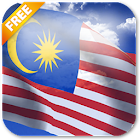 3D Malaysia Flag Live Wallpaper icon