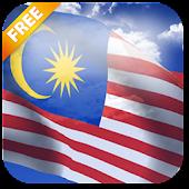 3D Malaysia Flag LWP