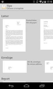 Tipo・PDF creator