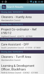 myjobscotland - screenshot thumbnail