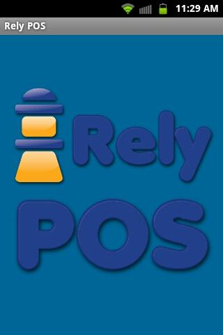 Rely POS Restaurant POS- screenshot