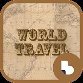 세계지도 여행 버즈런처 테마 (홈팩)
