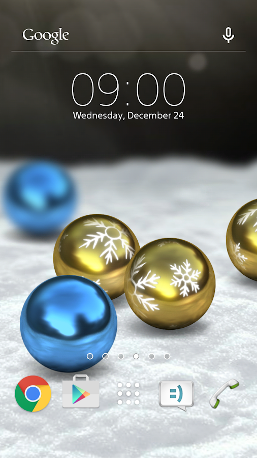 Diggin Xmas live wallpaper- screenshot