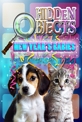 Hidden Object New Years Babies - screenshot