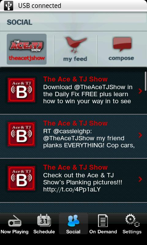 The Ace & TJ Show - screenshot