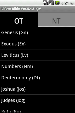 Lifove Bible - screenshot
