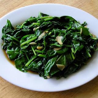Garlic Spinach (Suan Bo Cai)