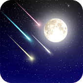 Meteor shower Live Wallpaer