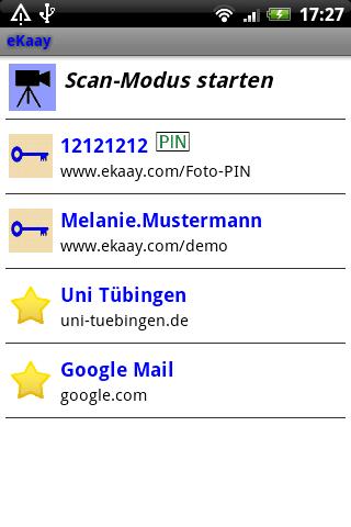 eKaay: screenshot