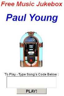 Paul Young Jukebox - screenshot thumbnail