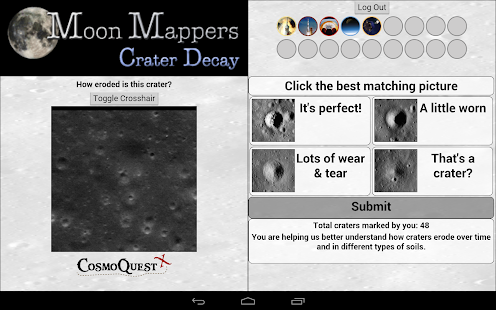 Moon Mappers Crater Decay - screenshot thumbnail