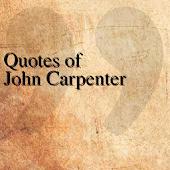 Quotes of John Carpenter