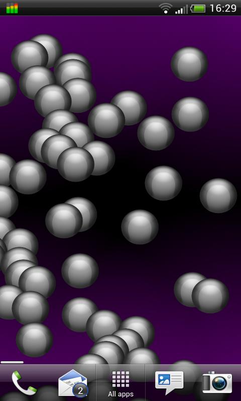 Bubbles Live Wallpaper- screenshot