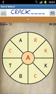 WordWheel- screenshot thumbnail