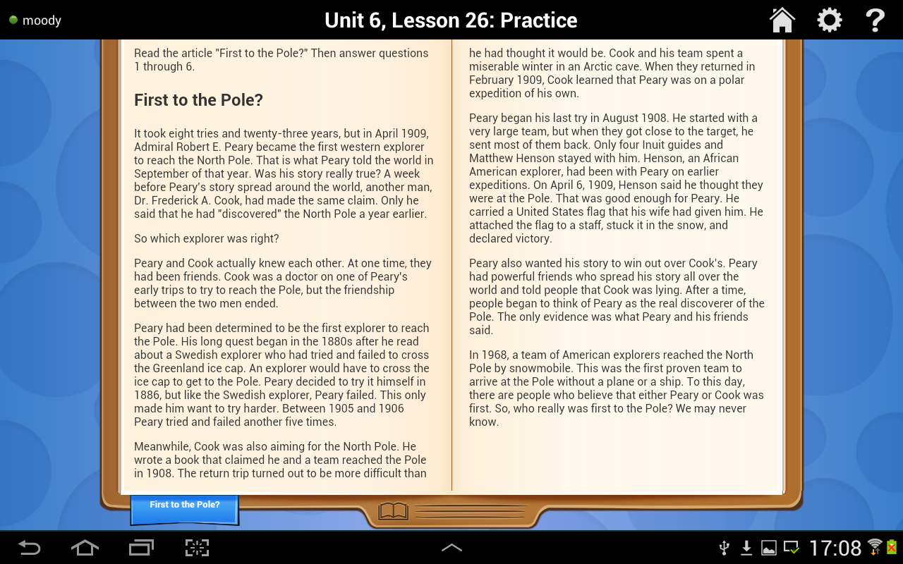 Reading Practice & Assess G3- screenshot