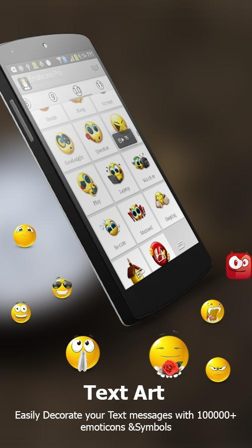 Emoticon & Smiley for Chat- screenshot