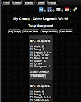 Screenshot of Crime Legends RPG