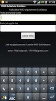 Screenshot of Kalkulator NWD Euklides