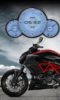 Screenshot of Ducati Diavel Compass HD LWP