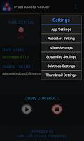 Screenshot of Pixel Media Server - DMS