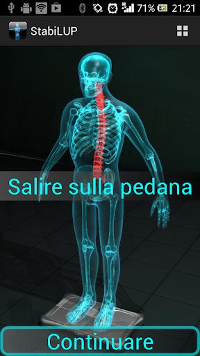 StabiLUP stabilometry