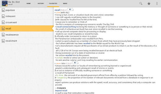 Oxford Dictionary of English T- screenshot thumbnail