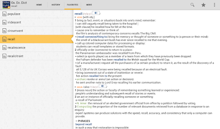 Oxford Dictionary of English T 4.3.136 screenshot 75220