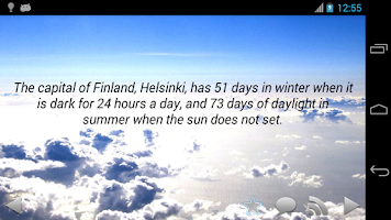 Screenshot of Daily Amazing Weather Facts
