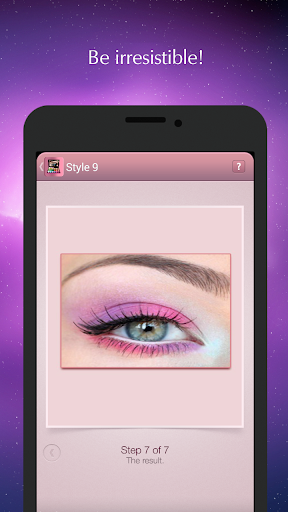 Eye makeup: step by step tips Screenshot