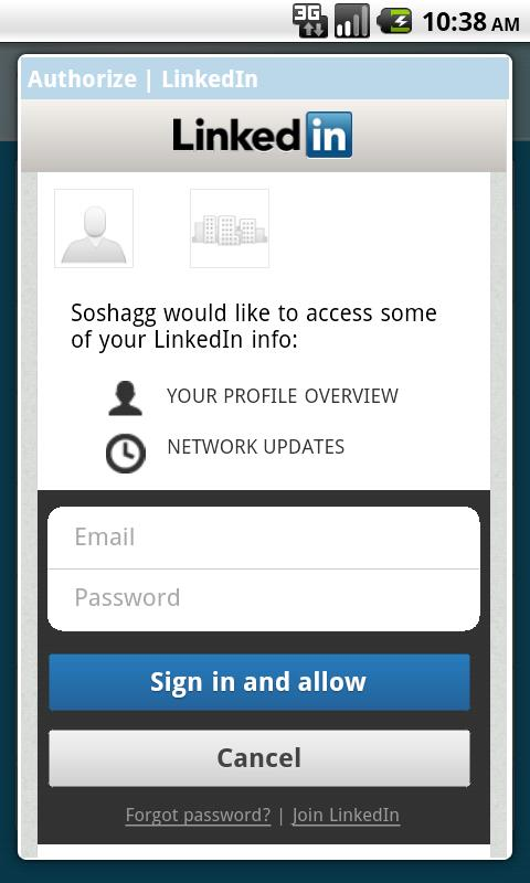 Soshagg- screenshot
