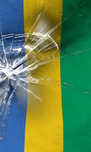 加蓬國旗生活壁紙
