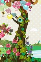 Screenshot of sweet tree LWallpaper[FL ver.]