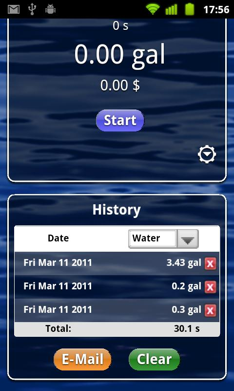 Water Timer Free- screenshot