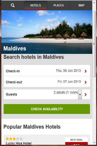 馬爾代夫酒店