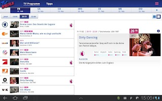 Screenshot of TV SPIELFILM - Tablet Edition