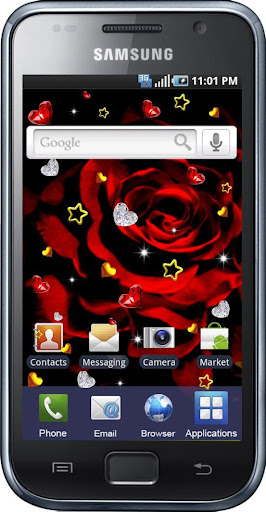 Red Black Style live wallpaper