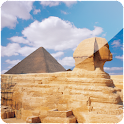 Pyramid of Egypt 3D logo