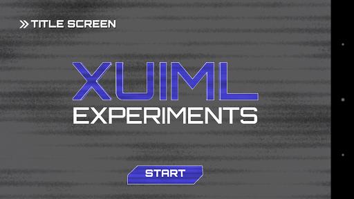 XUIML Experiments