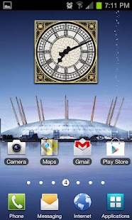 Big Ben Clock Widget- screenshot thumbnail